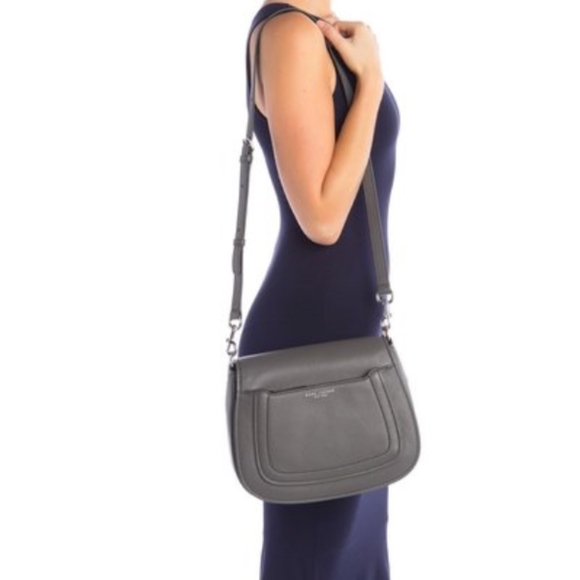 undefeated x promotion top-rated Marc Jacob Empire City Messenger Leather Crossbody NWT